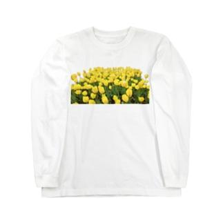 きいろい ちうりっぷ Long sleeve T-shirts