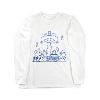 Burning Heart Long sleeve T-shirts