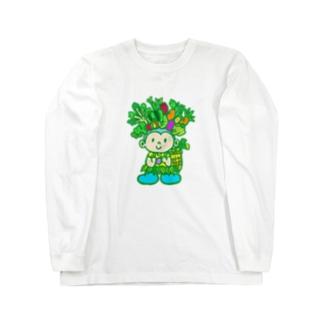 ベジタブルボーイ Long sleeve T-shirts