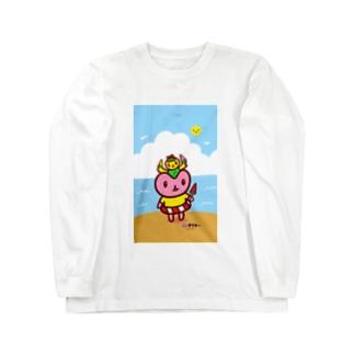 なつきぶん🍉 Long sleeve T-shirts