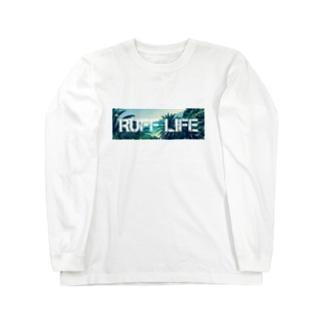 Ruff Life オリジナルフォト Long sleeve T-shirts