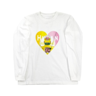 HUMAN Long sleeve T-shirts