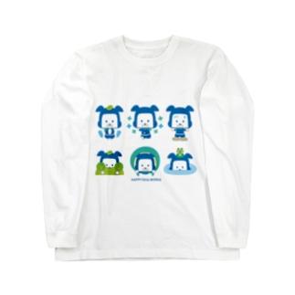 忍者犬たろうくん_忍術A Long sleeve T-shirts