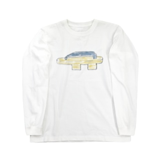 下駄 Long sleeve T-shirts