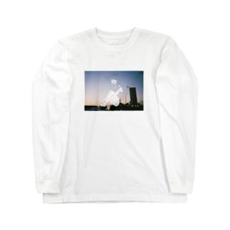 夕日少女 Long sleeve T-shirts