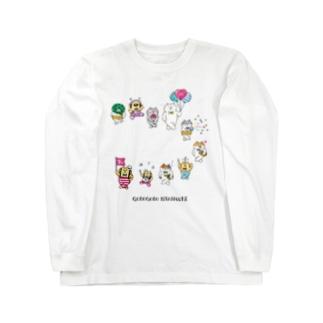 7th!ごろごろにゃんすけ Long sleeve T-shirts