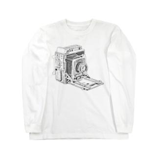 スピグラ Long sleeve T-shirts
