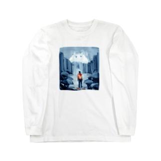 出口えりの街の怪物 Long Sleeve T-Shirt