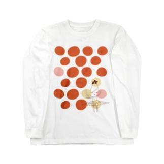 バレリーちゃん Long sleeve T-shirts