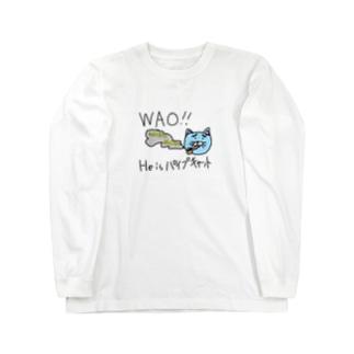 パイプキャット Long sleeve T-shirts