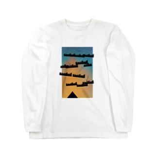 megacity Long sleeve T-shirts
