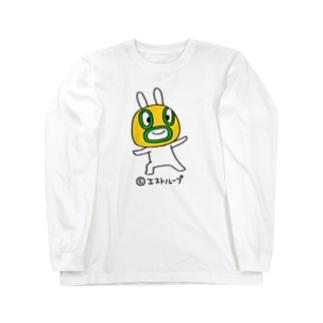 うさぎマスクマーン やさしいじゃんロンT Long sleeve T-shirts