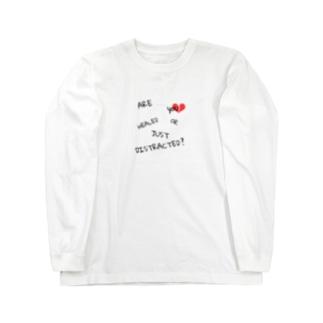 心の傷 Long sleeve T-shirts