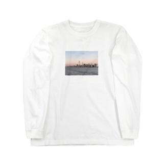 New York Skyline  Long sleeve T-shirts