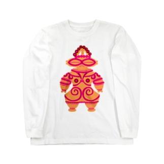 土偶 Long sleeve T-shirts
