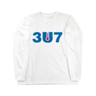 3U7(サウナ) Long sleeve T-shirts
