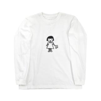 レトロな子供 Long sleeve T-shirts
