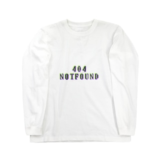 404 NOTFOUND Long sleeve T-shirts