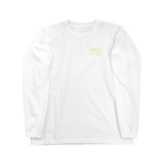 Smile ロゴ Long sleeve T-shirts