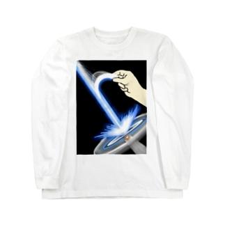 裂けるビーム Long sleeve T-shirts