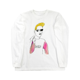 サングラスBOY Long sleeve T-shirts