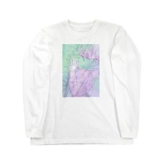 春の残像 Long sleeve T-shirts