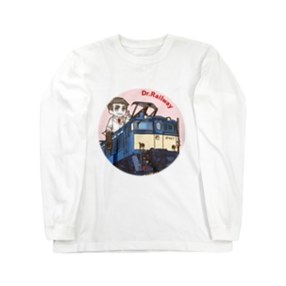 鉄道博士 EF63 Long sleeve T-shirts