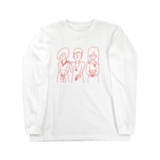 四十代の同窓会 Long sleeve T-shirts