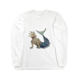 てにんぎょ Long sleeve T-shirts