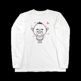 Hori shopのあいづち少年 あいちん。 Long sleeve T-shirts