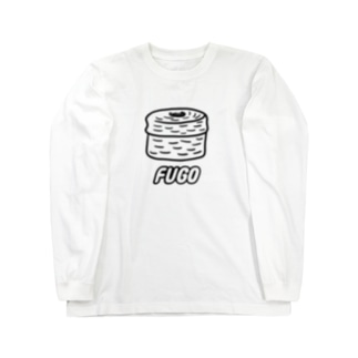 FUGO(黒線) Long sleeve T-shirts