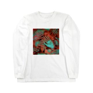takusan hands. Long sleeve T-shirts