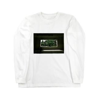 庭と光 Long sleeve T-shirts