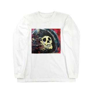Grim reaper. Long sleeve T-shirts