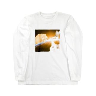 スペース・イコトコニャァスケ Long sleeve T-shirts
