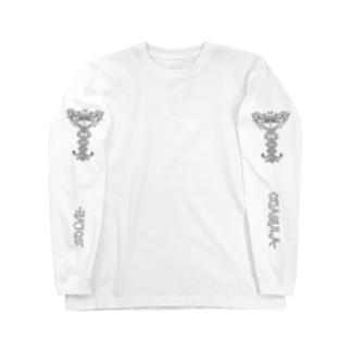 アトリビュート:カドゥケウス Long sleeve T-shirts