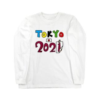 TOKYO2021 Long sleeve T-shirts