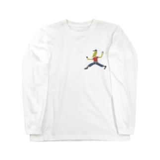 ラブアンドピースくん Long Sleeve T-Shirt