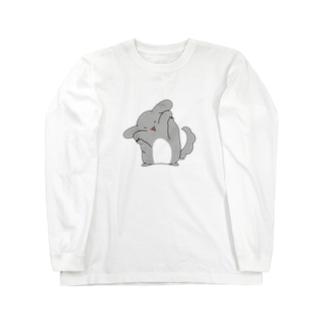 ゆるチラ(ほっぺ) Long Sleeve T-Shirt