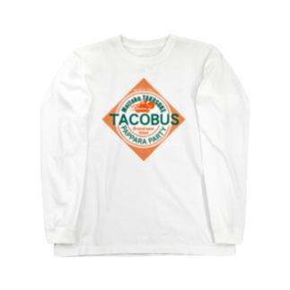 タコバス Long sleeve T-shirts