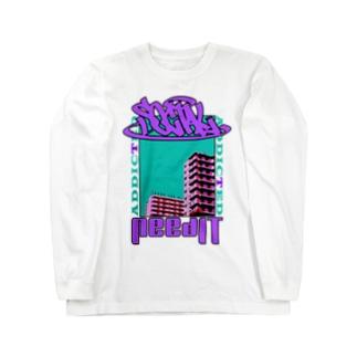 ソーシャル Long sleeve T-shirts