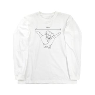 大体20cmTシャツ Long sleeve T-shirts