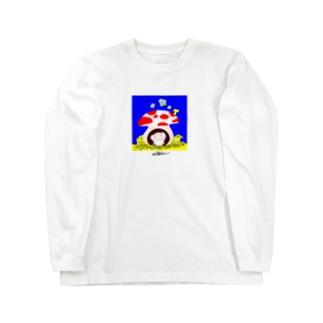 モンパルロ(地球平和キャラクター) Long sleeve T-shirts