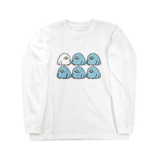 電線でぐちぐち言うTORI Long sleeve T-shirts