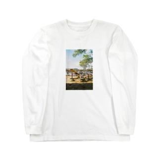 シーソー Long sleeve T-shirts