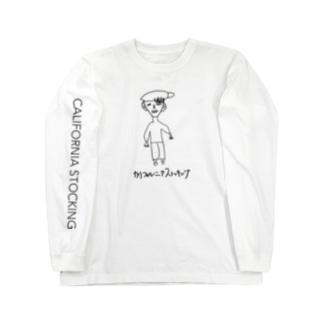 カリフォルニアストッキング Long sleeve T-shirts