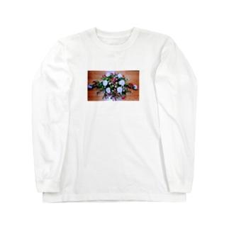 ソフィフラワー Long sleeve T-shirts
