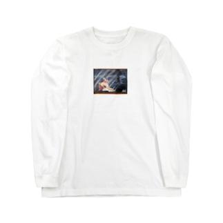 ピエタ Long sleeve T-shirts