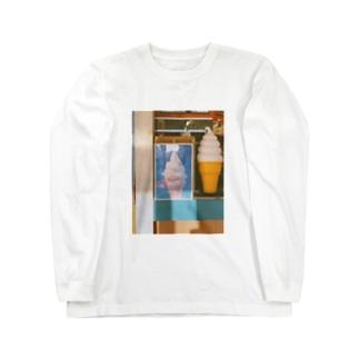 ソフトクリーム Long sleeve T-shirts