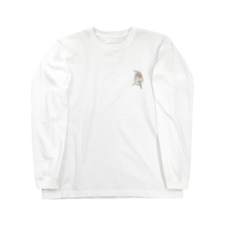 kanonの紐カミカミののたん(白ポメラニアン) Long Sleeve T-Shirt